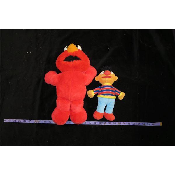 Elmo & Ernie Plushes (Elmo Voice Box)