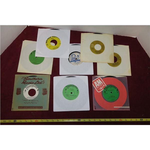Lot Misc. Disney Records For Children