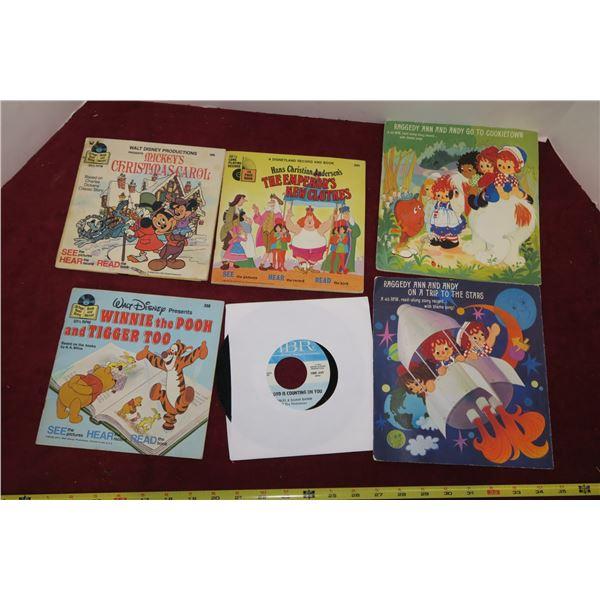 Lot Misc. Raggedy Ann Books/Records