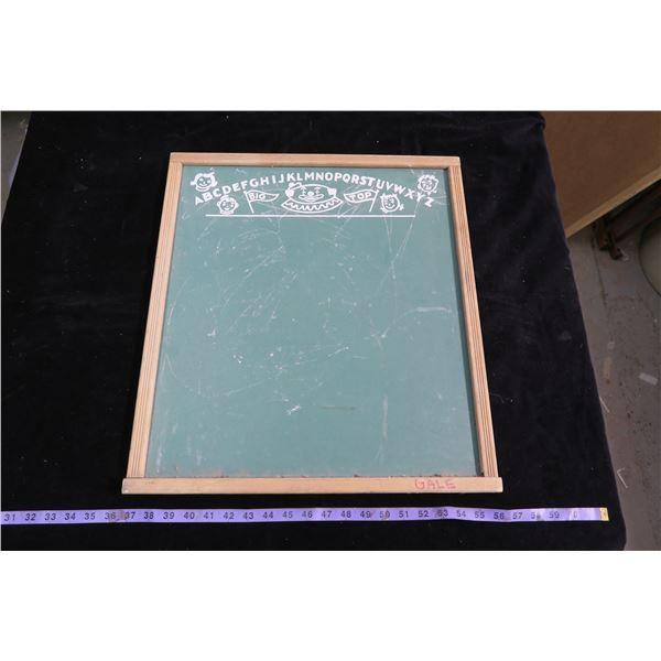 Vintage Childrens Chalk Board