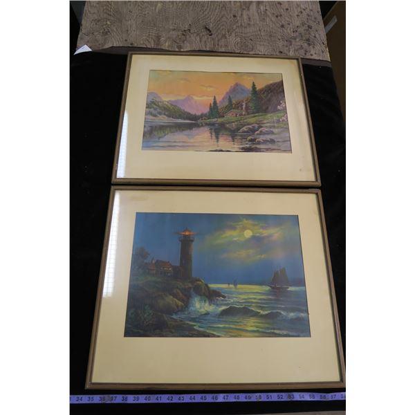2 Wall Hangings/Prints
