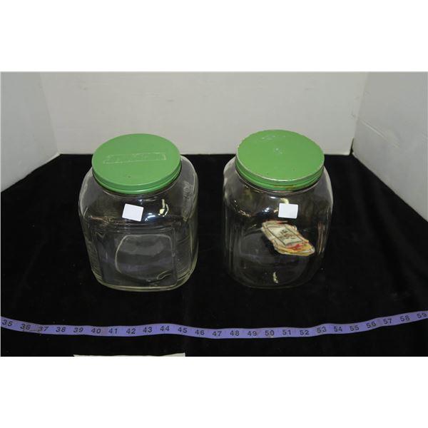 2 Vintage Jars