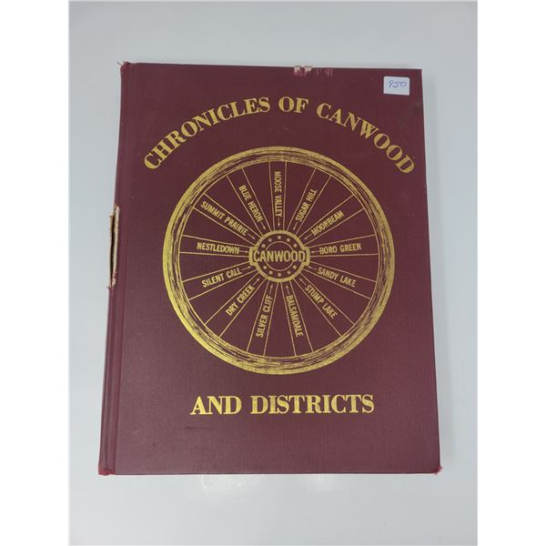 Canwood history book