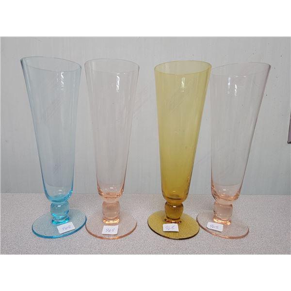 4 tall glasses