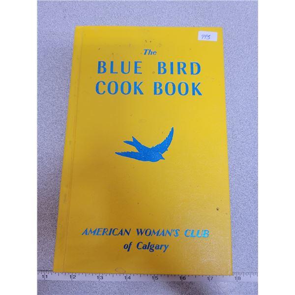 Cook book, blue bird