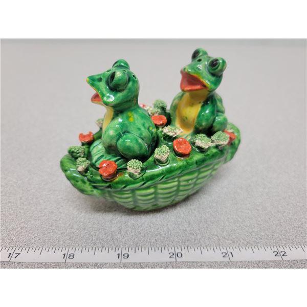 Salt & pepper frogs