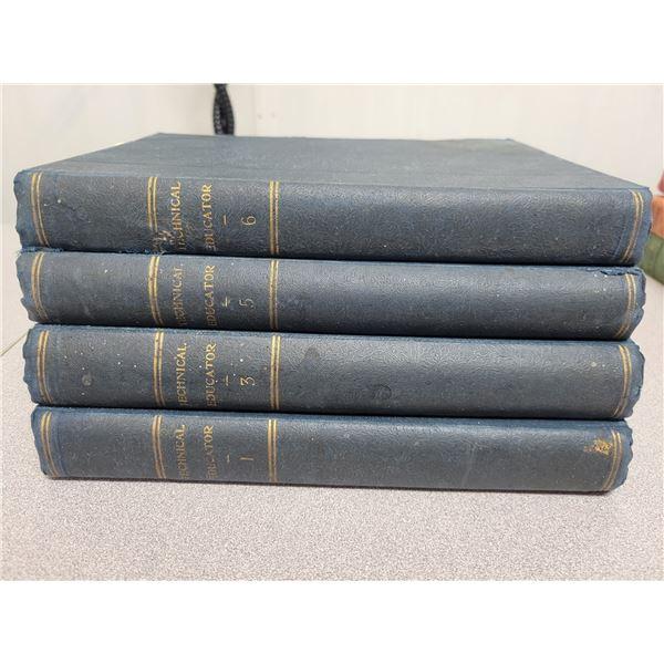 New Technical Educator books 1-3-5-6 (1893)