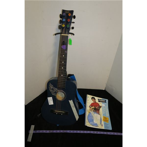 Child's guitar stand - book