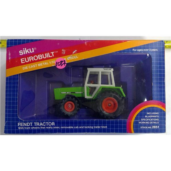 Siko 1/24 Scale Diecast Fendt Tractor