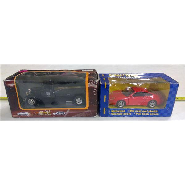 2 - 1/43 Scale Diecast Car & Truck