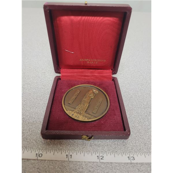 Vimy Ridge medal bronze 1936 France