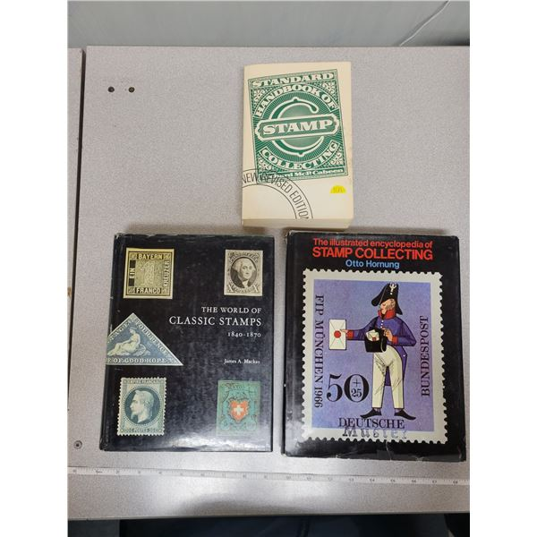 3 Books about stamps