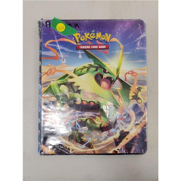 Pokemon cards in binder 1st series