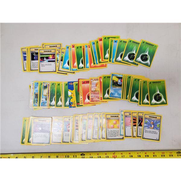 Pokemon cards loose 1st series