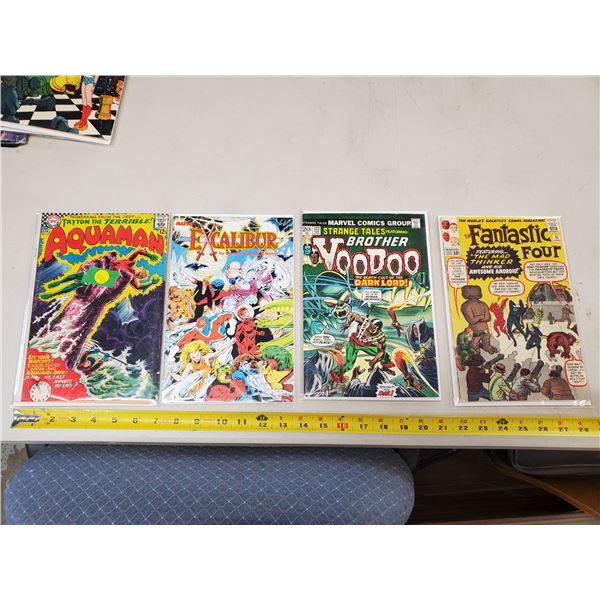 4 comics Marvel Fantastic 4 (silver age)
