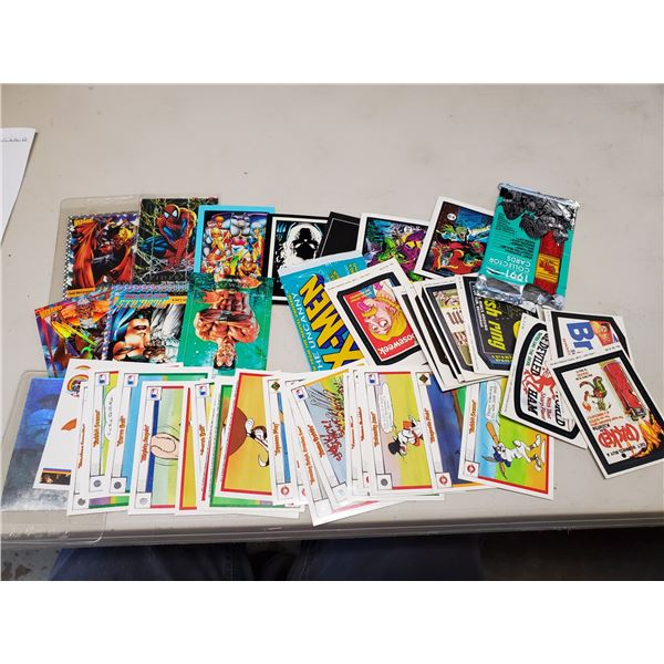 marvel cards & assorted cards
