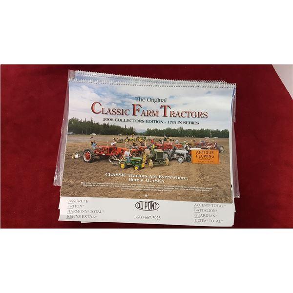 7 X Classic Farm Tractors Calendars & Misc.