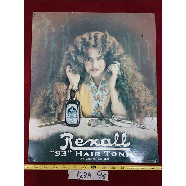 Rexall Hair Tonic Tin