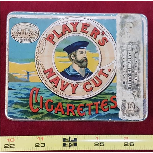 Players Cigarette Tin