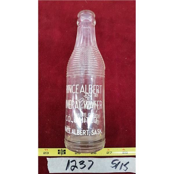 Prince Albert Mineral Water Co. Bottle