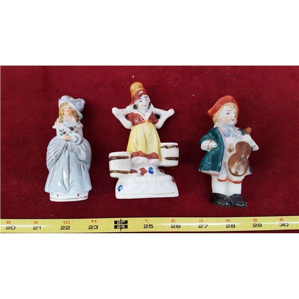 3 Occupied Japan Figurines