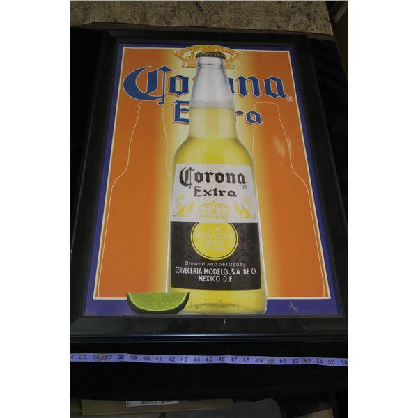"""Corona Extra Framed Print 38""""×26"""""""