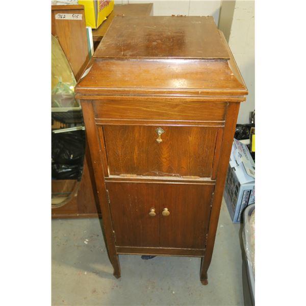 "Harmonola Gramophone Cabinet 44""×20""×22"""