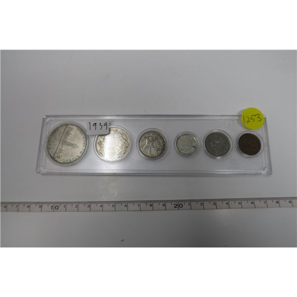 1939 Canadian Coin Set 6 Piece
