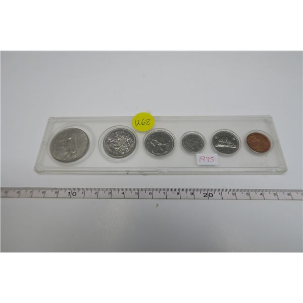 1975 Canadian Coin Set 6 Piece