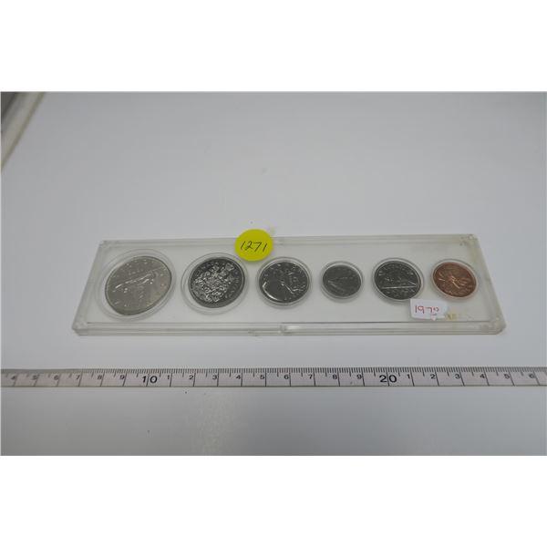 1979 Canadian Coin Set 6 Piece