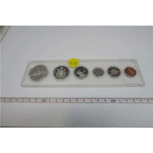 1981 Canadian Coin Set 6 Piece