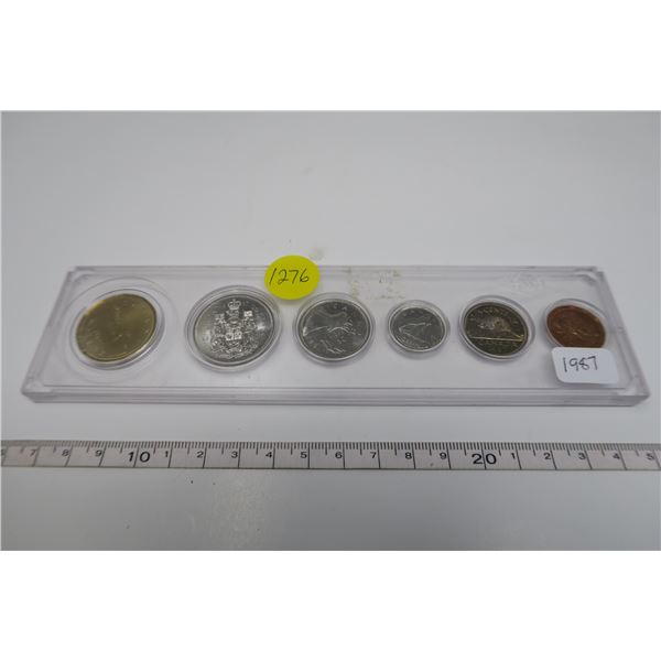 1987 Canadian Coin Set 6 Piece