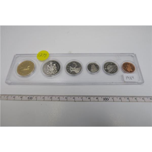 1989 Canadian Coin Set 6 Piece