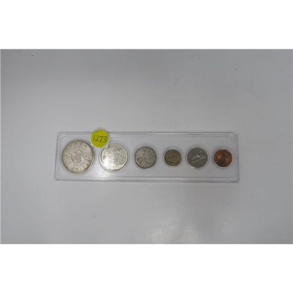 1964 Canadian Coin Set 6 Piece