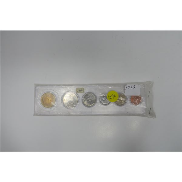 1990  Canadian Coin Set 6 Piece