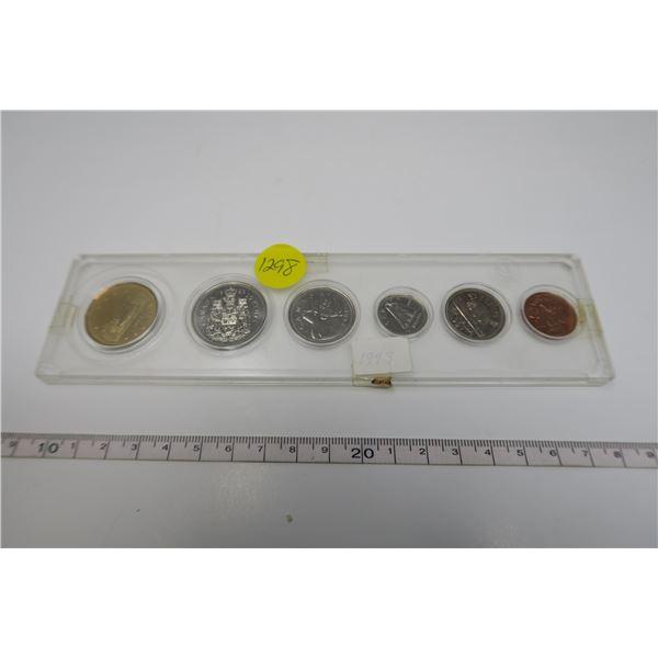 1993  Canadian Coin Set 6 Piece
