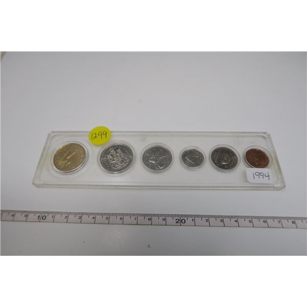 1994  Canadian Coin Set 6 Piece