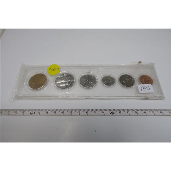 1995  Canadian Coin Set 6 Piece