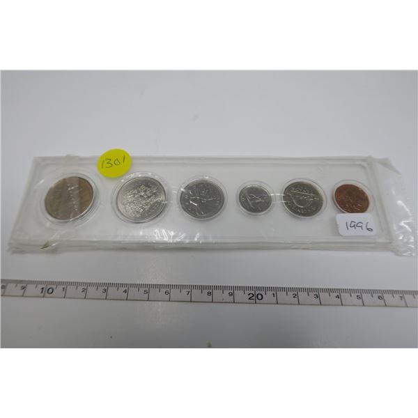 1996  Canadian Coin Set 6 Piece