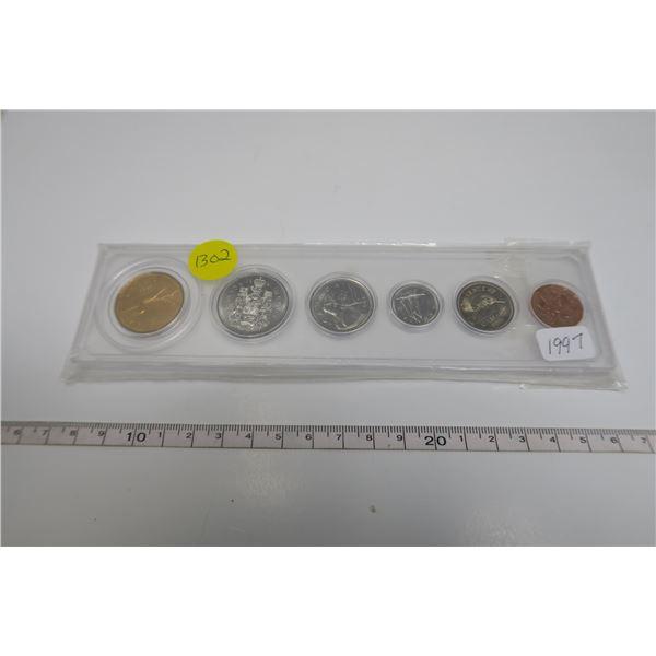1997  Canadian Coin Set 6 Piece