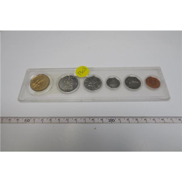 2002  Canadian Coin Set 6 Piece