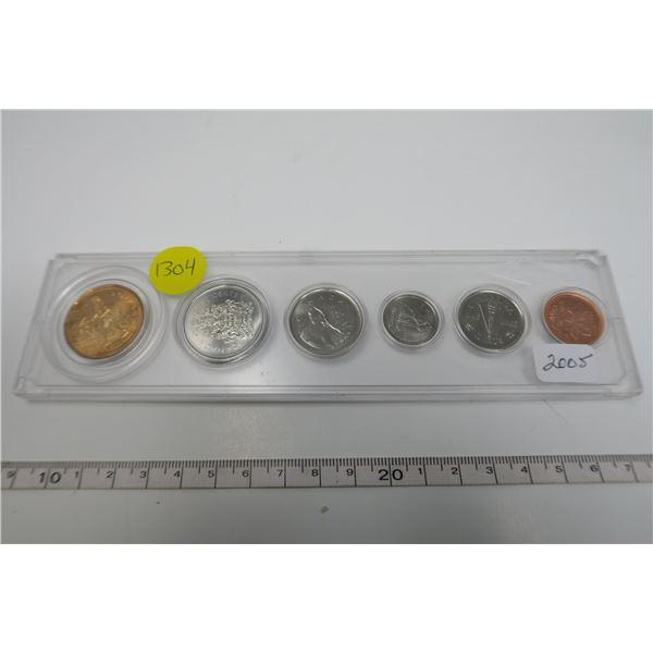 2005  Canadian Coin Set 6 Piece