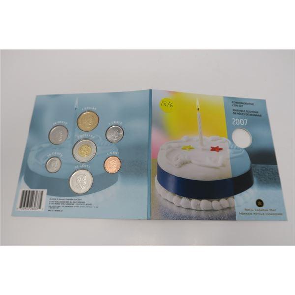 2007 Canadian Mint Commemorative Coin Set 7 Piece