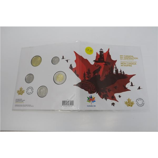 My Canada, My Inspiration 2017 Coin 5 Piece