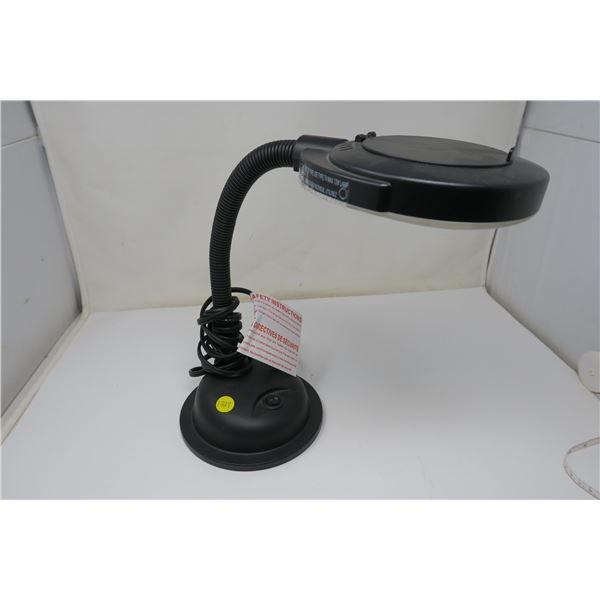 Globe LED Desk Magnifying Lamp