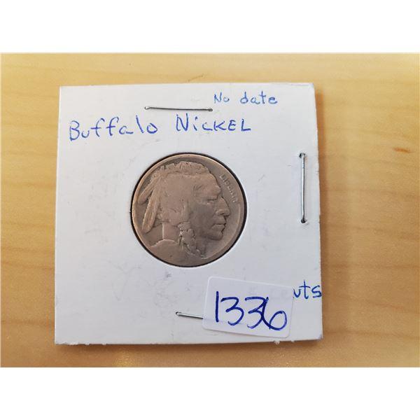 no date buffalo nickel