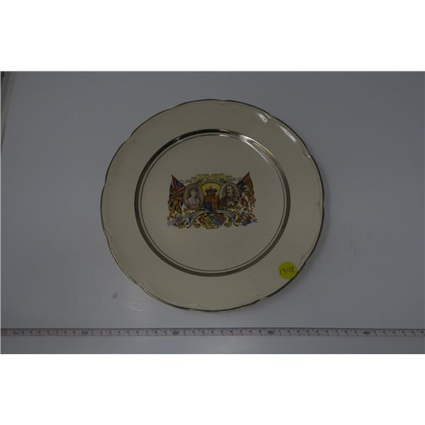 Canadian Siver Jubilee Collectors Plate