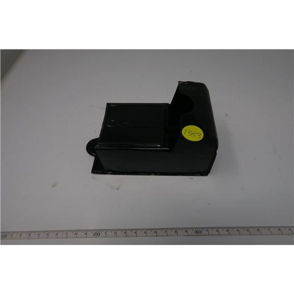 Tin Matchbox Holder Black