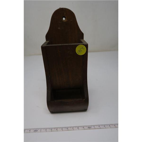 Wood Matchbox Holder