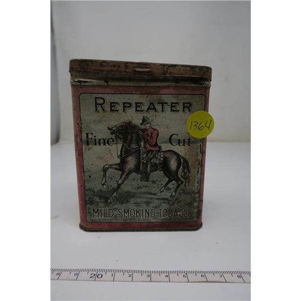 Tobacco Tin Repeater Fine Cut